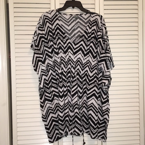 new directions Other - Black and White Chevron Cover Up